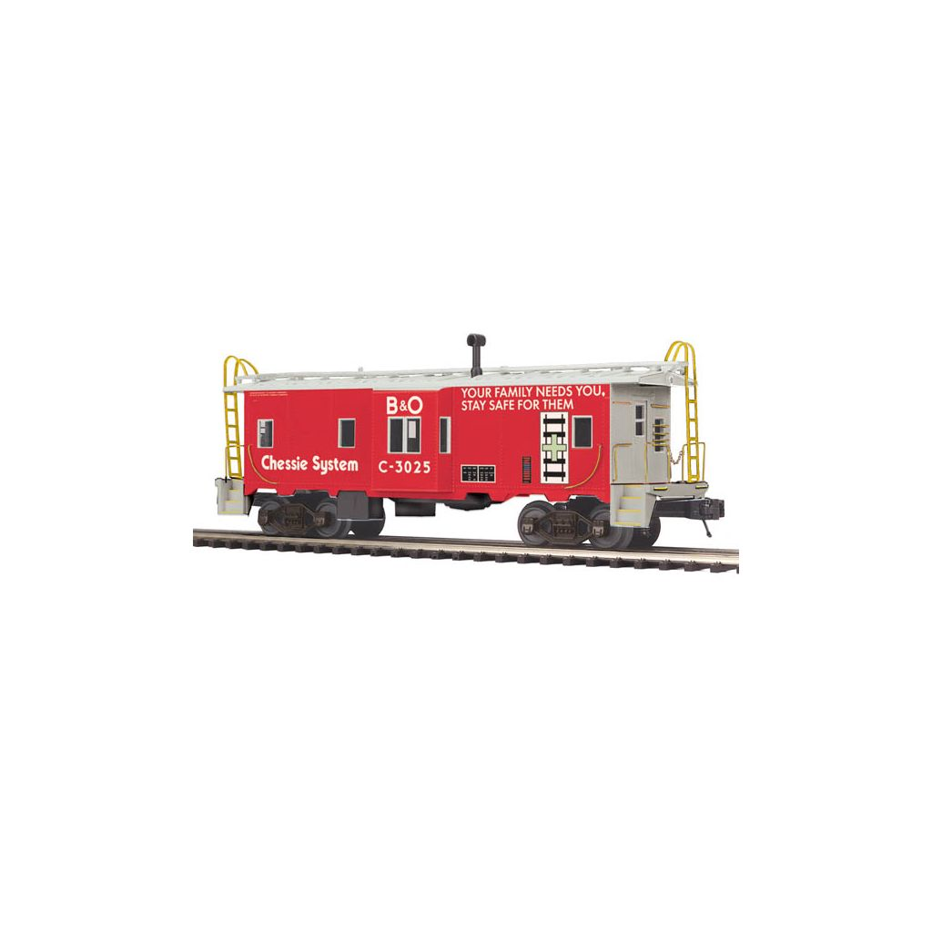Chessie Bay Window Caboose 20-91379
